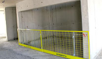 Barriers for Elevators and Air Shafts